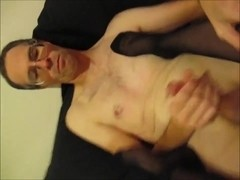 Dirty old man get private lesbo show from 2 strippers