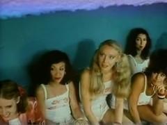 Vanessa del Rio, John Leslie, Gloria Leonard in classic porn video