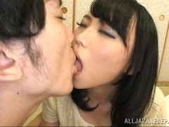 Azumi amazing Asian model gets 69 and cum on her tits