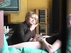 French wife gives her lover an unforgettable blowjob.