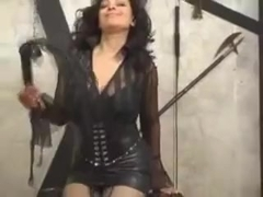 Mistress Danica Collins Masturbates With Her Dildo