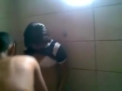 Cute latina girl lets a friend tape her having sex