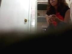 Girl in Bathroom 6