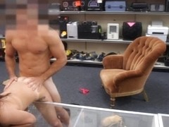 College girl pawns her twat and pounded at the pawnshop