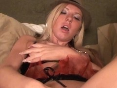 Smoking Party Blonde Squirting And Gushing Orgasm