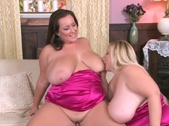 Bbws in threesome
