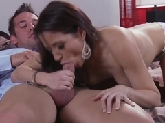 Young babe Charity Bangs satisfies Johnny Castle