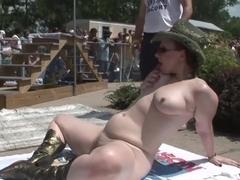 Horny pornstar in incredible outdoor, brazilian porn movie