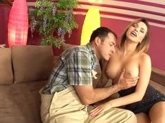 Horny pornstar Aleska Diamond in amazing brazilian, big tits sex clip
