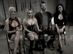 Incredible fetish xxx video with best pornstars Maitresse Madeline Marlowe, Lorelei Lee and Aiden Starr from Whippedass
