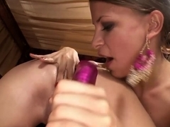 Incredible pornstars Nicole Sweet, Jess West, Avril Sun in Exotic Dildos/Toys, Lesbian porn scene