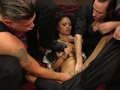 Nightmare On Mission Street: Annie Cruz Gets Creampied!