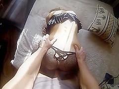 German miniature dilettante angel homemade porn facial