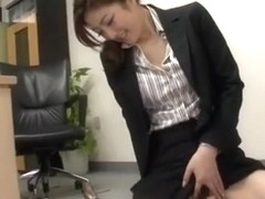 Exotic Japanese girl Ai Haneda in Best Foot Fetish, Office JAV scene