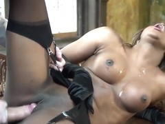 Danny D fucks screaming ebony Jasmine Webb