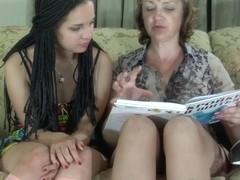 GirlsForMatures Clip: Emilia B and Mabel
