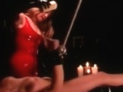 Spandex porn clip with horny blonde who plays bdsm game