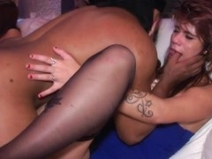 Real party euro amateur fucks stranger