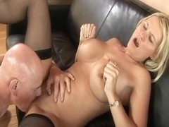 RawVidz Video: Busty Blonde Can't Get Enough Cock