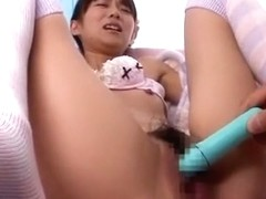 Crazy Japanese girl Asuka Hoshino in Fabulous Stockings JAV movie