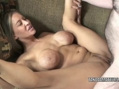 Mature swinger Leeanna Heart gets her loose pussy pounded