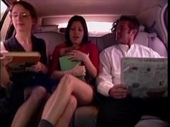 3 porn stars dogging in the car