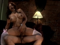 Watch Kandi Kream Bounce Her Butt While Riding Dick