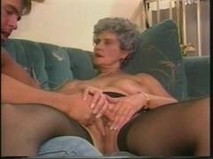 granny shows her mangos