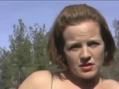 Corpulent Redhead-Mother I'd Like To Fuck Outdoors
