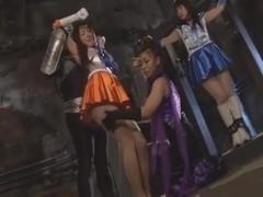 Japanese Sailor Girls Armpit Licking pt3