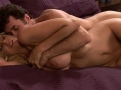 MILF with huge sexy round boobs gets drilled deep