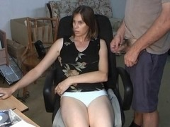 Kinky milf plays with a dildo and a dick on a webcam
