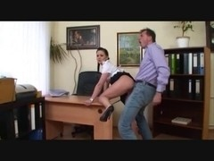 boss bonks his secretary :D