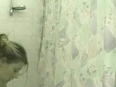 spy in shower premier