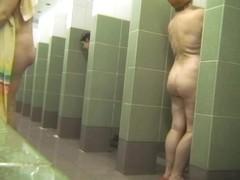 Hot Russian Shower Room Voyeur Video  35