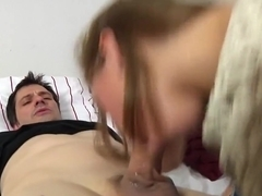 Crazy pornstar Riley Reid in exotic brunette, cunnilingus porn movie