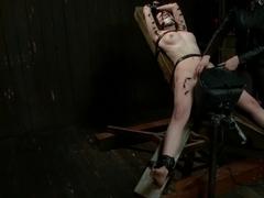 Alani Pi - Head Shaved Slut Live Show - Part 4