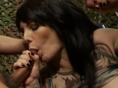 Exotic pornstar Daisy Rock in crazy gaping, brunette adult scene