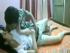 Hot indian girl has missionary and cowgirl sex with her bf