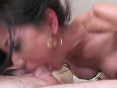Horny pornstar Tia Ling in Amazing Blowjob, Stockings sex movie