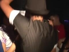 Horny pornstar in best group sex, striptease xxx video
