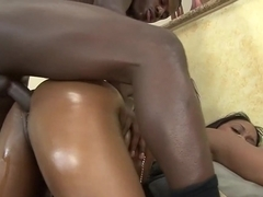 Incredible pornstar Suga Brown in amazing black and ebony, cumshots adult video
