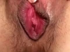 Japanese cum-hole play 54