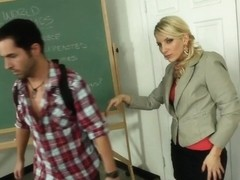 Ashley Fires & Kris Slater in My First Sex Teacher