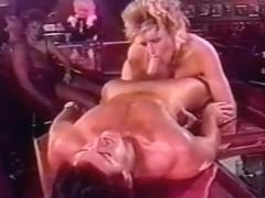 Big titted fem under cock attack