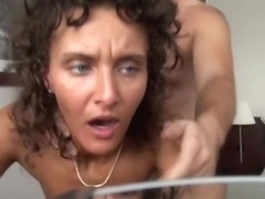 Beautiful slut cheating her husband in a hotel