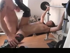 Milf In Long Boost Fucked By The Trainer
