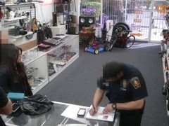 Lesbian Babes receives humilated at pawnshop after they pawn a moose head.