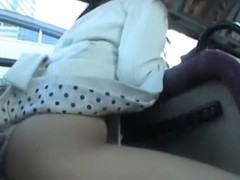 Horny Japanese slut in Exotic Public, Amateur JAV movie