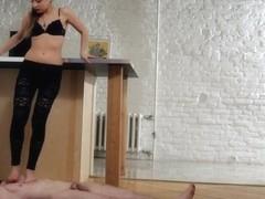 Under-Feet Video: Taya
